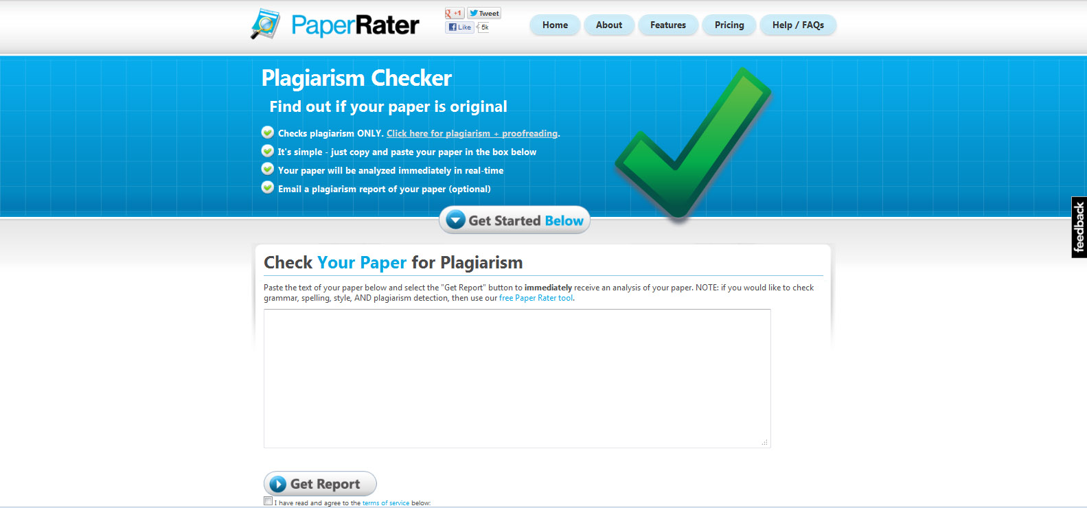 check the plagiarism of your paper